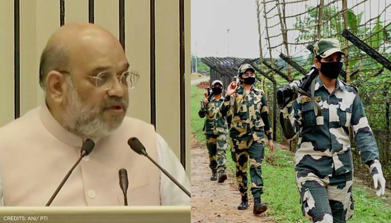 Amit Shah urges BSF jawans to focus on technology-based development in defense sector