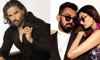दरबार अभिनेता ने भारतीय क्रिकेटर केएल राहुल के साथ अपनी बेटी के संबंधों के बारे में खोला