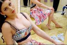 Urvashi Rautela drops sizzling HOT photos in pink top and skirt featuring plunging neckline