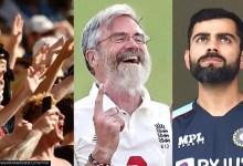 Hilarious Barmy Army tweet shows 68-yr-old James Anderson dismissing Virat Kohli Jr