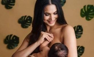 'बिग बॉस' तमिल अभिनेता की पत्नी ने अपने नवजात बेटे को स्तनपान कराने की मनमोहक तस्वीरें पोस्ट की