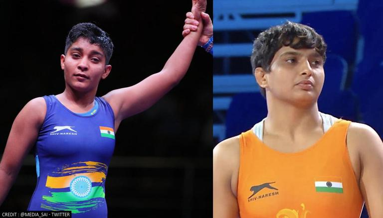 Sanju Devi and Bhateri clinch silver medals at Junior Wrestling World Championships