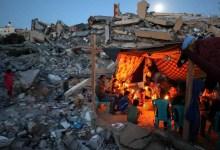 सीमा पर हिंसक विरोध के बाद इजरायल ने गाजा पर हमला किया