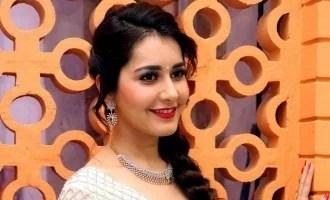 राशि खन्ना ने शुरू की धनुष की 'थिरुचित्रम्बलम' की शूटिंग!