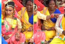 Angry bride beats groom for chewing tobacco during wedding rituals, video goes viral