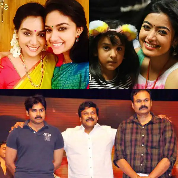 Rashmika Mandanna, Ram Charan, Keerthy Suresh and more: Check out the siblings of these famous South stars