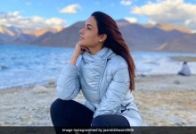कुदरत की गोद में नजर आईं जैस्मिन भसीन, इनोसेंट लुक ने जीता फैंस का दिल
