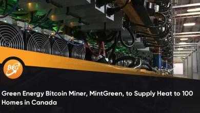 ग्रीन एनर्जी बिटकॉइन माइनर, मिंटग्रीन, कनाडा में 100 घरों में गर्मी की आपूर्ति करेगा