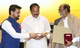 सुपरस्टार रजनीकांत को मिला दादा साहब फाल्के पुरस्कार