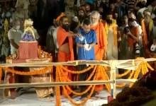 अयोध्या में दिल्ली के सीएम अरविंद केजरीवाल की सभा में 'जय श्री राम' के नारे लगे