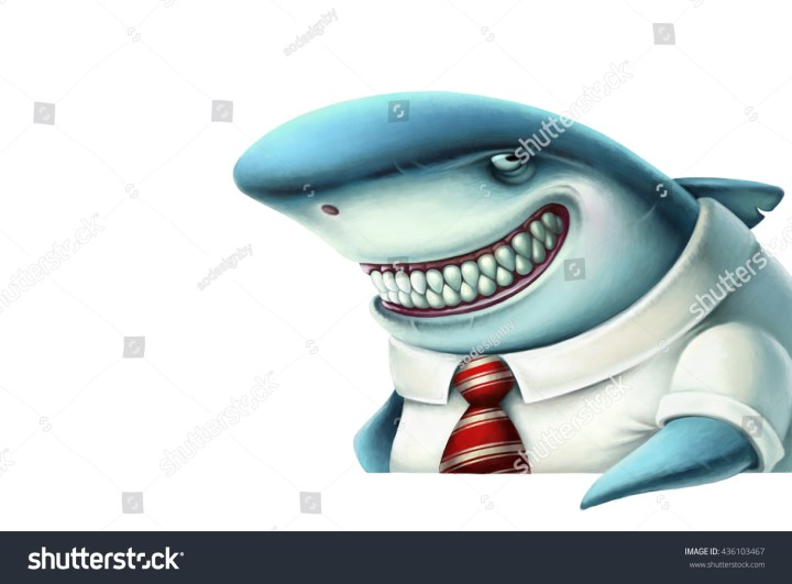 stock-photo-illustration-of-business-shark-smiles-slyly-cartoon-436103467