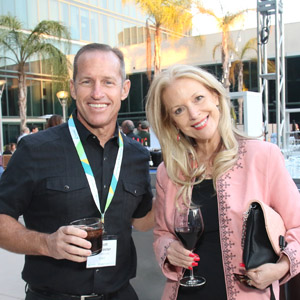 SYSPRO Scott McMaster with Judith Rothrock of JRocket Marketing