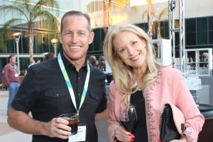 Scott McMaster, Sales Manager SYSPRO, with Judith Rothrock, CEO JRocket Marketing
