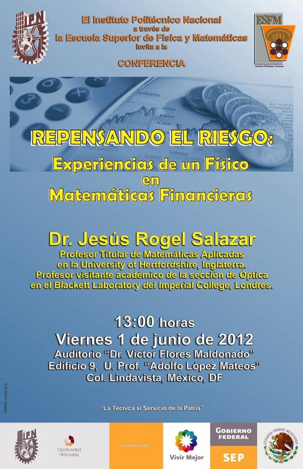 ESFM Talk Escuela de Fisica y Matematicas