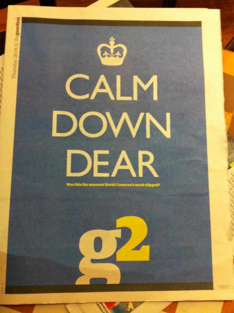 Calm Down Dear
