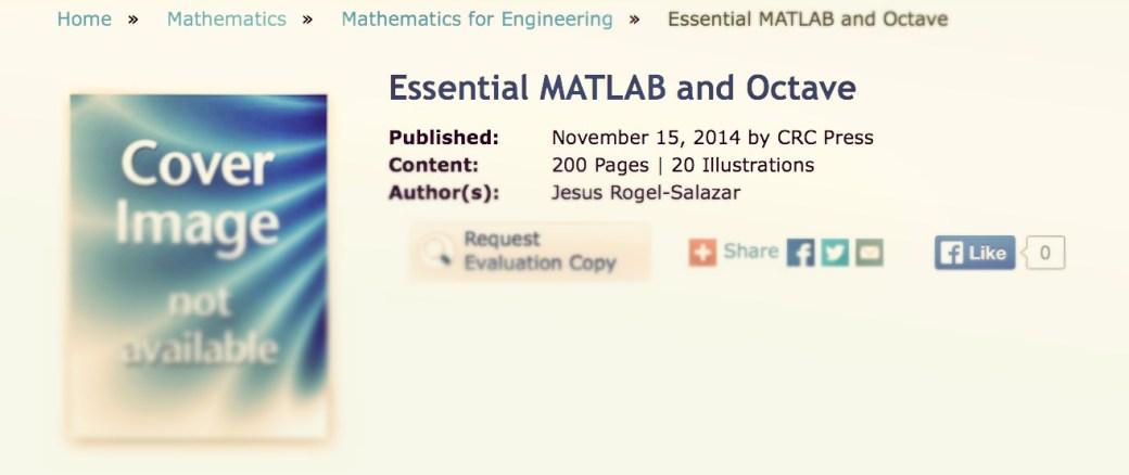 CRC_Essential_MATLAB_Octave