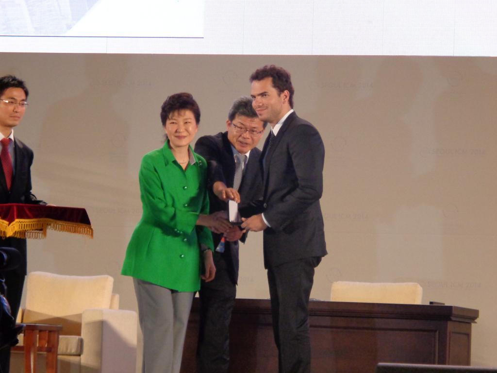 ICM2014 ― opening ceremony