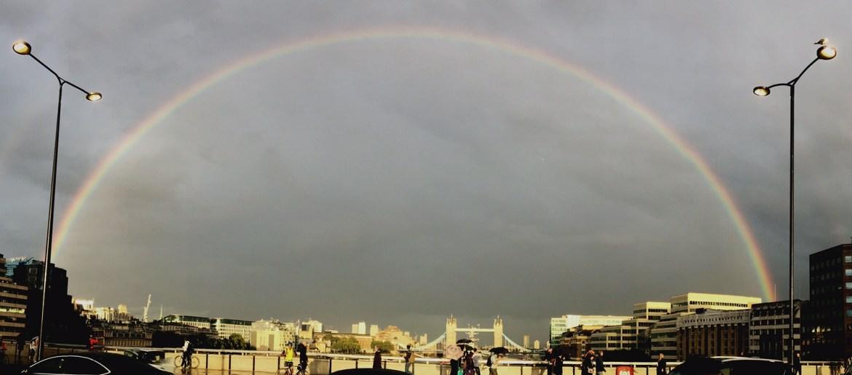London Bridge Rainbow