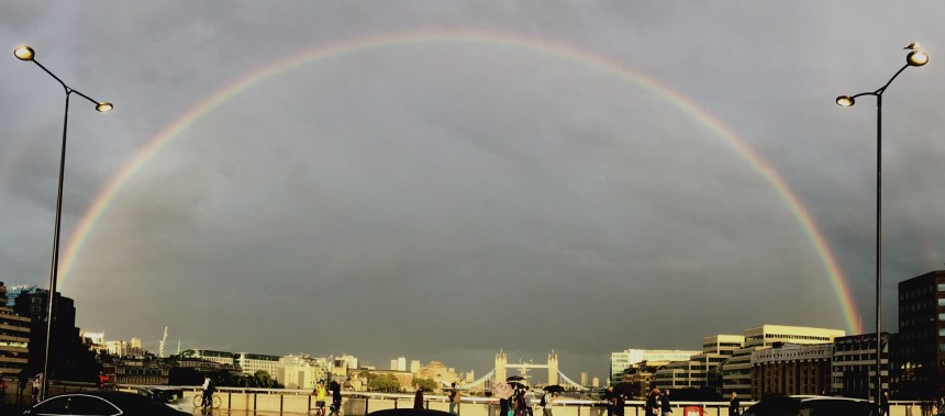 London Bridge Rainbow