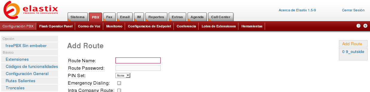 Elastix callcenter