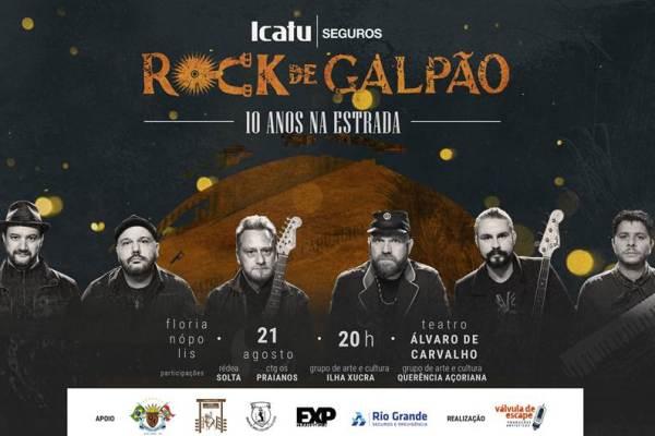 Icatu Seguros apresenta show inédito da Rock de Galpão em Florianópolis