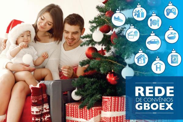 Rede de Convênios GBOEX oferece descontos em promoções de Natal