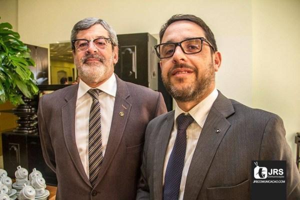 Carlos Josias e Juliano Ferrer, do escritório C. Josias & Ferrer / Arquivo JRS