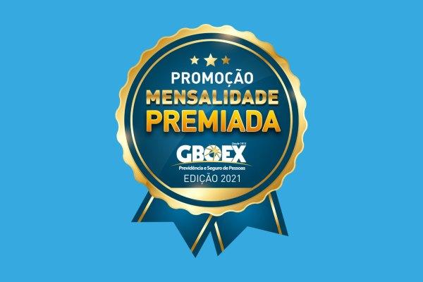 GBOEX lança promoção Mensalidade Premiada 2021