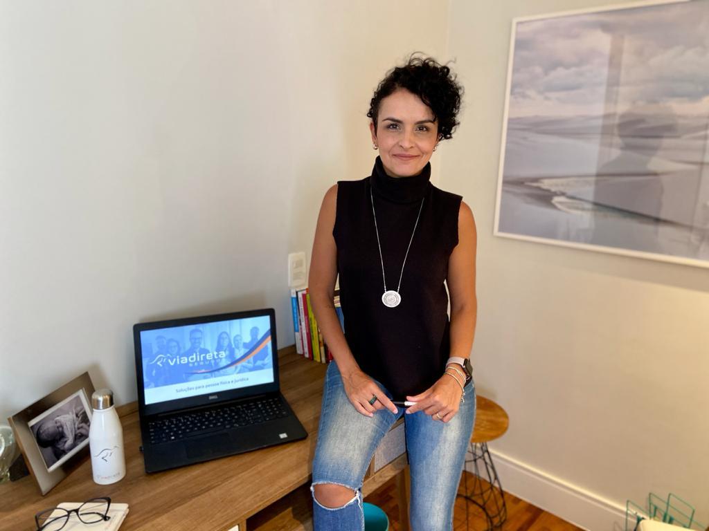 Michelle Vilarinho é a nova Chief Growth Officer – CGO da Via Direta Corretora de Seguros / Divulgação