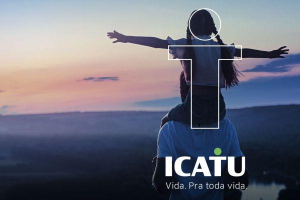 Icatu estreia nova identidade visual / Reprodução