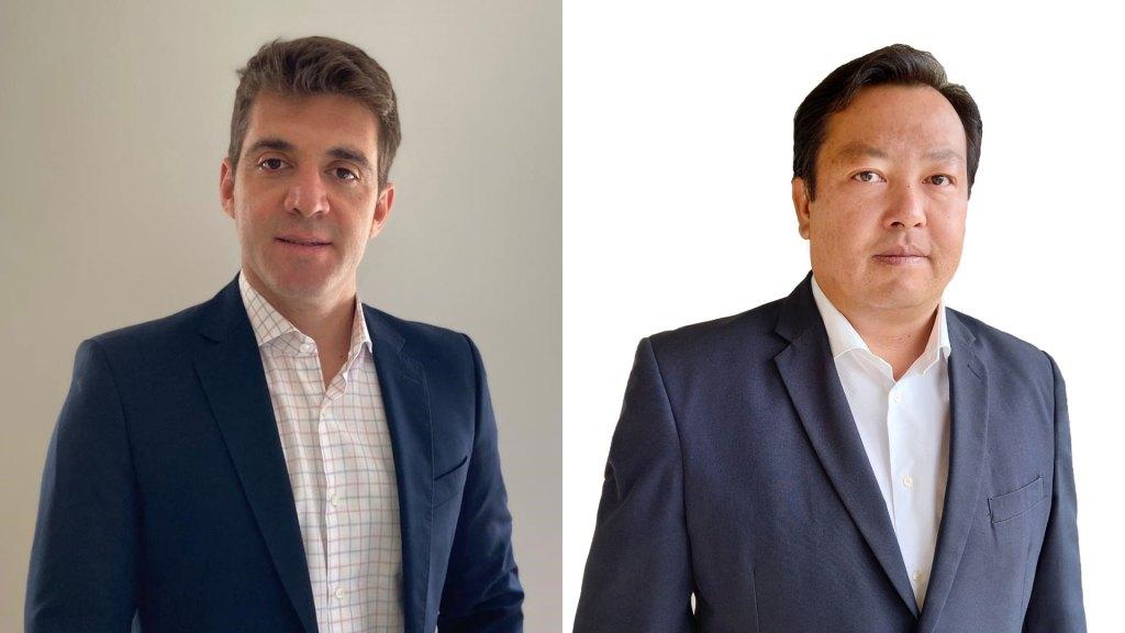 Felipe Ribeiro é o novo superintendente de Produto Automóvel; e Marcel Takara é o novo gerente de Produto Auto Frota da Sompo Seguros / Divulgação