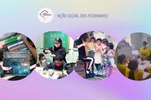 Pedrinhas promovem ação social em prol da educação; Saiba como ajudar / Divulgação