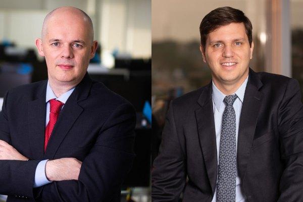 Rafael Fragnan, Chief Risk Officer; e Fernando Gonçalves, Head Financial Lines / Surety / P&C da Argo Seguros / Divulgação