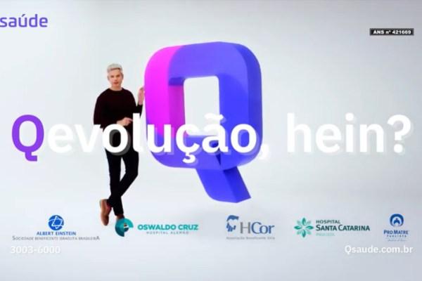 Imagem da campanha com Otaviano Costa, produzida pela Africa / Divulgação