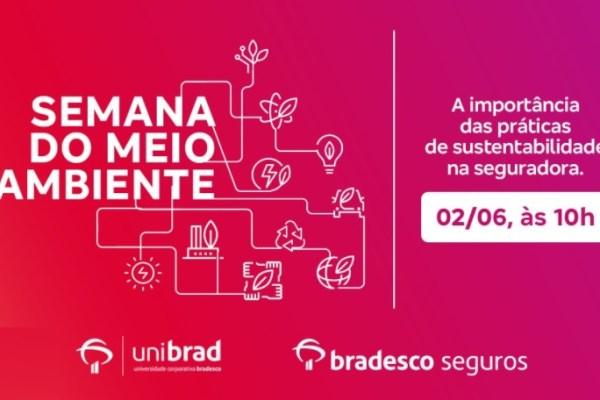 Bradesco Seguros promove webinar com executivos para marcar Semana do Meio Ambiente / Reprodução