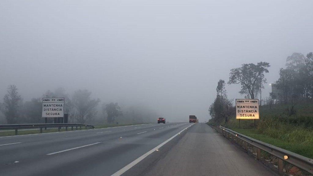 CCR ViaOeste e CCR RodoAnel apontam cuidados com neblina nas rodovias / Divulgação/CCR