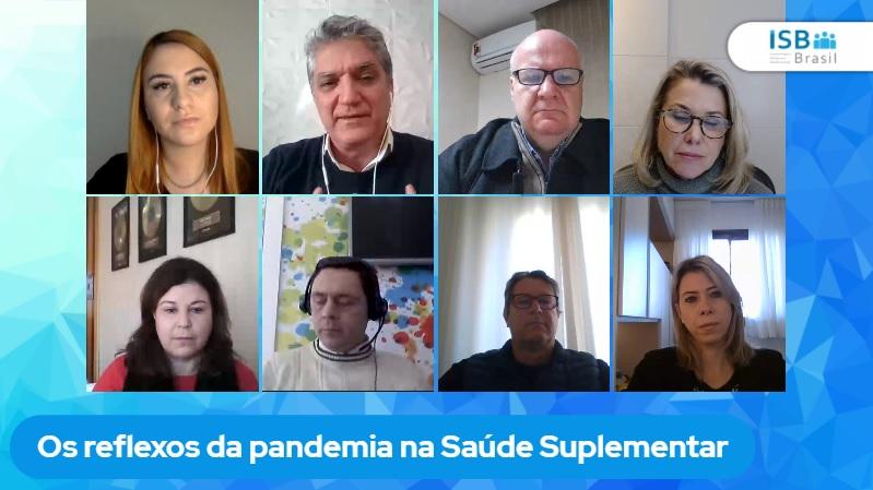ISB Brasil discute os reflexos da pandemia na Saúde Suplementar / Reprodução