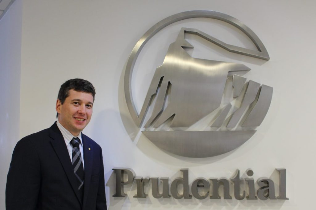 David Legher é CEO e presidente da Prudential do Brasil / Divulgação