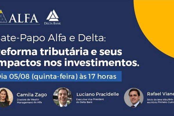 Conglomerado Alfa realiza webinar sobre Reforma Tributária / Divulgação
