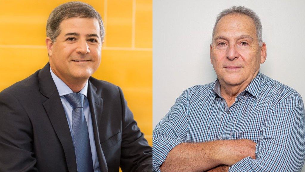 Ronaldo Dalcin, presidente do Sindsegnne, e Carlos Valle, presidente do Sincor-PE / Divulgação