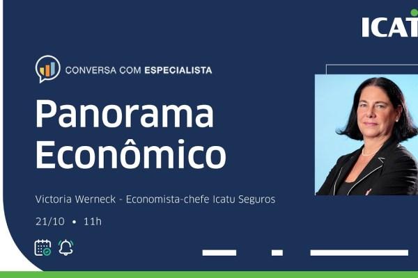 Panorama Econômico com Victoria Werneck: economista da Icatu fala sobre cenário econômico nesta reta final de 2021 / Reprodução