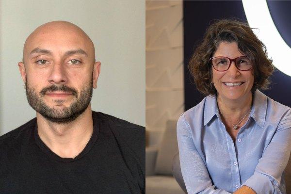 Renato Costa é CMO e CIO da Odontoprev; e Rose Gabay é diretora de Recursos Humanos da Odontoprev / Divulgação