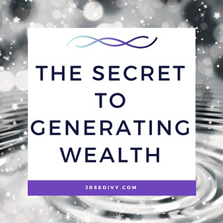 The Secret To Generating Wealth