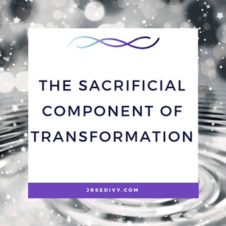 The Sacrificial Component of Transformation