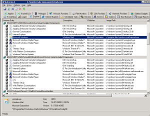 Autoruns Windows Mail Disable