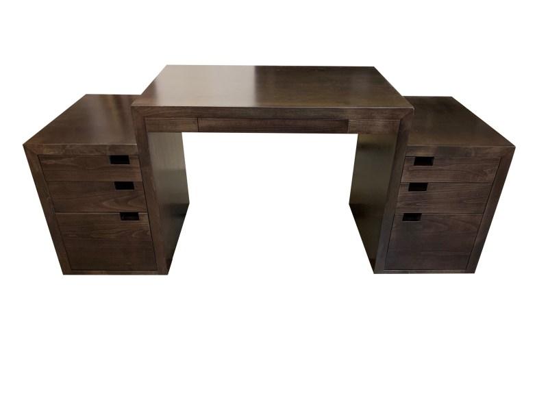 Custom Maple File Drawer Desk