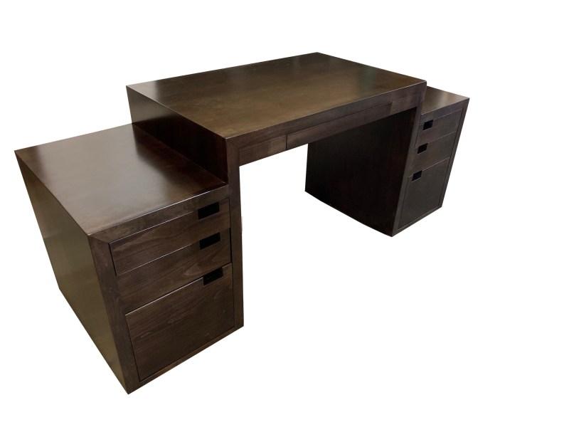 Side View Custom Maple Desk