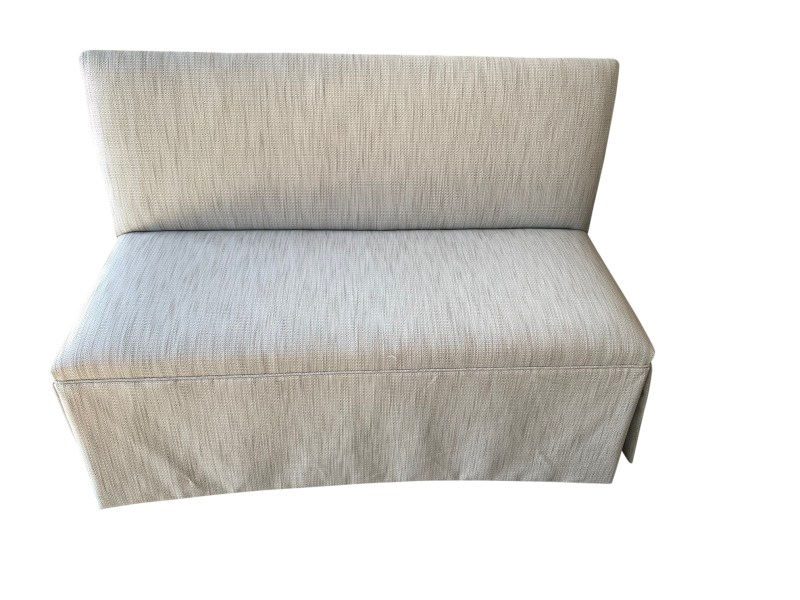 Upholstered Bench Front