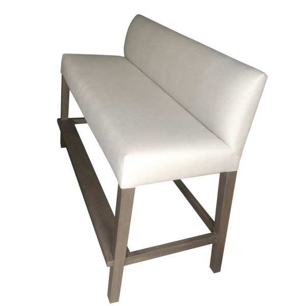 Custom Outdoor Bar Bench (1)