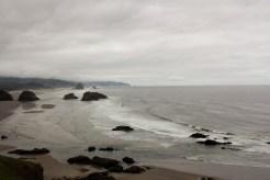 Cannon Beach is a popular location on the Oregon coast.